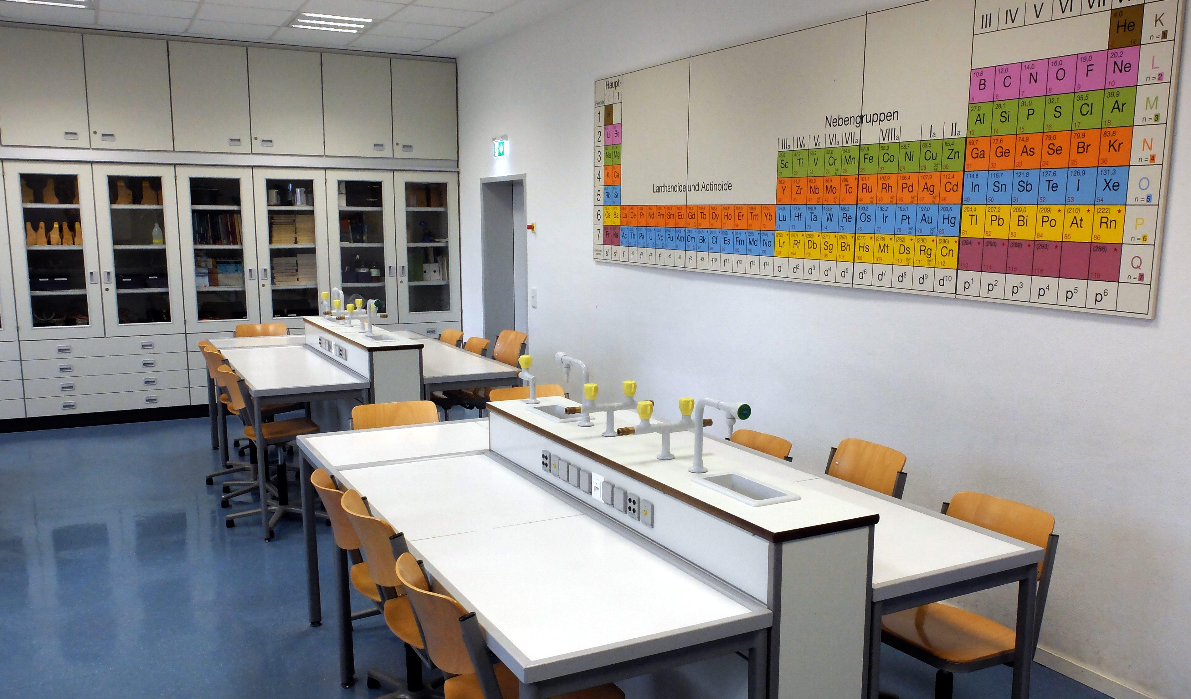 Einrichtungen für den Bildungsbetrieb